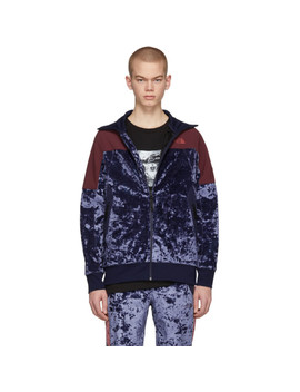 Blue Velvet City Track Jacket by The North Face Black Series