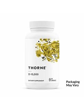 Thorne Research   Vitamin D 10,000   Vitamin D3 Supplement (10,000 Iu) For Healthy Bones And Muscles   60 Capsules by Thorne Research