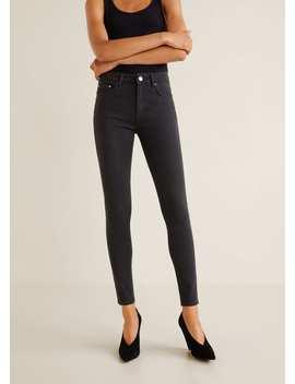 Skinny Jeans Mit Hohem Bund by Mango