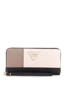 Quattro G Velvet Crossbody Wallet by Guess