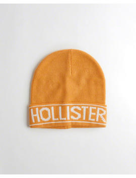 Logo Beanie by Hollister