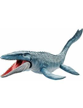 Jurassic World Real Feel Mosasaurus Figure by Jurassic World Toys