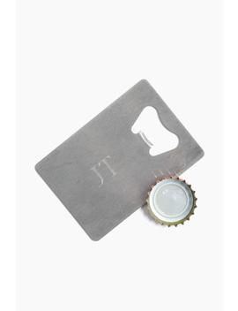Personalized Credit Card Bottle Opener by Jds