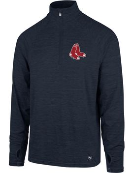 '47 Men's Boston Red Sox Quarter Zip Pullover by '47