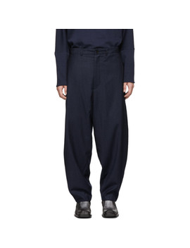 Blue Wide Trousers by House Of The Very Islands
