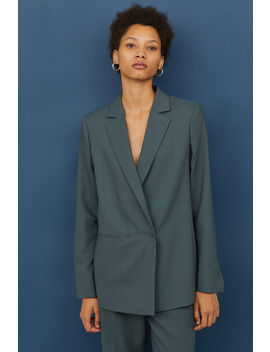 Zweireihiger Wollblazer by H&M