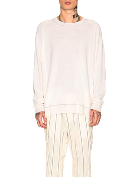 Sweater In Oversized Form by Haider Ackermann