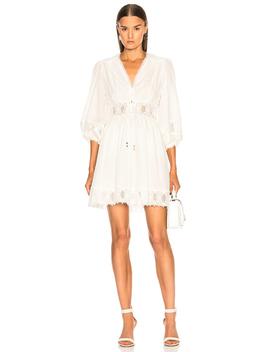 Iris Corset Waist Dress by Zimmermann
