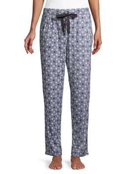 Self Tie Bow Floral Pants by Nuit Rouge