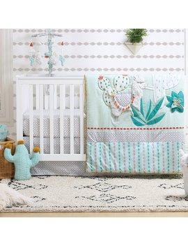 The Peanut Shell Little Llama 3 Piece Crib Bedding Set by The Peanut Shell