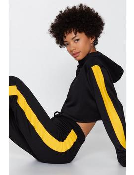 Give It To Me Hood Striped Hoodie And Joggers Set by Nasty Gal