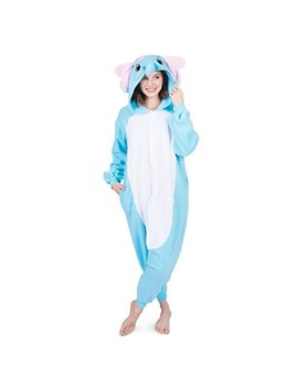 Emolly Fashion Adult Elephant Animal Onesie Costume Pajamas For Adults And Teens by Emolly Fashion