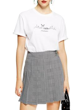 Skyline Graphic Tee by Topshop