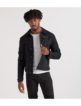 Denim Jacket With Velcro Tape by Heritage