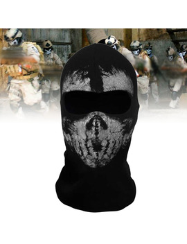 Call Of Duty 10 Ghost Balaclava Motorcycle Cycling Game Airsoft Full Face Mask by Unbranded