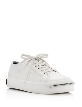 Women's Pia Low Top Leather Platform Sneakers by Alexander Wang