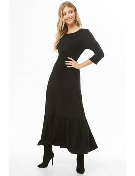 Tiered Seam Maxi Dress by Forever 21