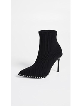 Eri Stretch Booties by Alexander Wang