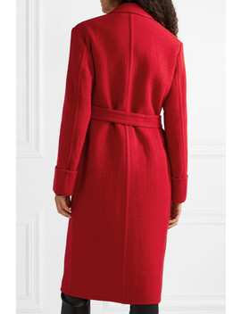 Belted Wool Coat by Helmut Lang