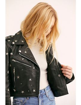Star Studded Mercury Cropped Jacket by Free People