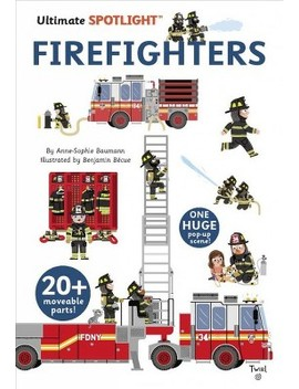 Firefighters    (Ultimate Spotlight) By Anne Sophie Baumann (Hardcover) by Target
