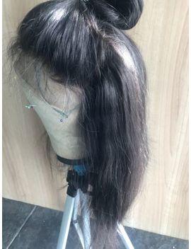Uk  360 Lace Frontal Wig Glueless  Brazilian Virgin Human Hair Full Wig by Ebay Seller