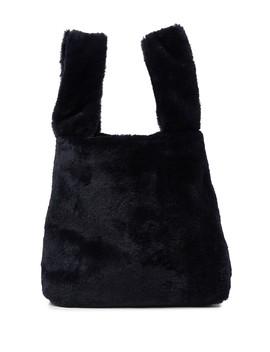 Elle Wristlet Faux Fur Shopper Bag by French Connection