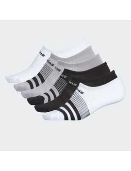 Superlite Super No Show Socks 6 Pairs by Adidas
