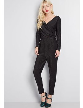 Spied Your Shine Sparkle Jumpsuit by Sugarhill Brighton
