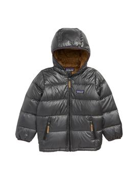 Reversible Water Resistant 600 Fill Power Down Hooded Jacket by Patagonia