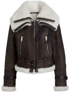 Reissued 2010 Shearling Aviator by Burberry