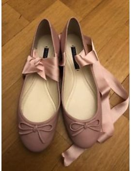 Ralph Lauren Pink Leather Ballerinas Size Uk 5 Eu 38 New Rrp £370 by Ebay Seller