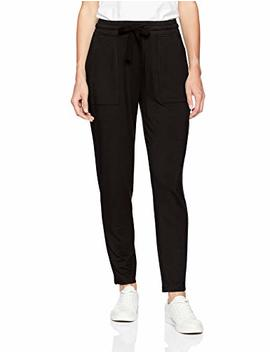 Daily Ritual Women's Supersoft Terry Patch Pocket Pant by Daily+Ritual