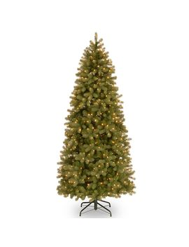 National Tree Company 6.5 Ft. Pre Lit Downswept Douglas Fir Slim Artificial Christmas Tree by Kohl's