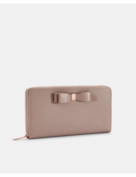 Bow Leather Matinee Purse by Ted Baker