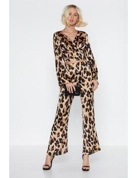 So Fierce Wrap Top And Pants Set by Nasty Gal