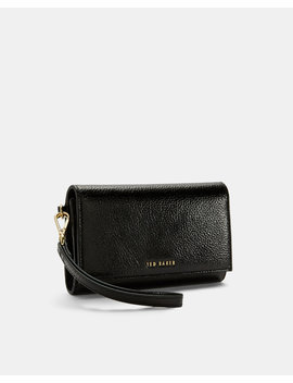 Textured Leather French Purse by Ted Baker