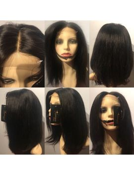 Full Head Wig Virgin Brazillian Hair Straight Texture Grade 8 A 300g by Ebay Seller