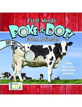 Poke A Dot First Words Farm Animals by Amazon