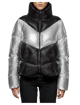 Jess Colorblock Puffer Jacket by Mackage
