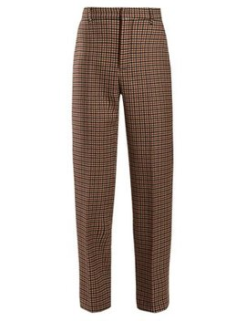 High Rise Tweed Trousers by Balenciaga