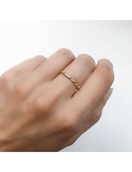Gold Dainty Ring   Stacking Ring   Dainty Ring   Minimalist Jewelry   Tiny Thin Ring   Dainty Jewelry   R097 by Etsy
