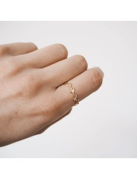 Branch Ring, Leaf Ring, Delicate Ring, Delicate Gold Ring, Dainty Jewelry R086 by Etsy