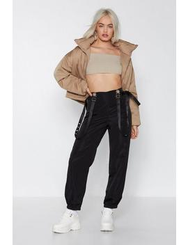 Strap Back Cargo Pants by Nasty Gal