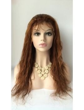 100 Percents 11 A Grade Brazilian/Peru<Wbr>Vian Front Lace/ 360 Frontal Wig With Highligt 4/30 by Ebay Seller