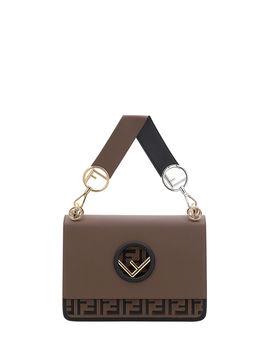 Kan I Regular Ff Bicolor Shoulder Bag by Fendi