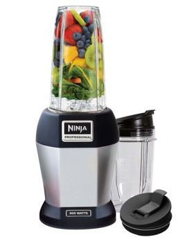 Nutri Ninja Pro 900 W Professional Blender, Silver (Certified Refurbished) by Ninja