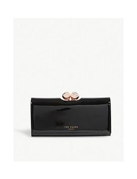 matinee-patent-leather-wallet by ted-baker