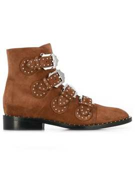 Buckle Ankle Boots by Givenchy