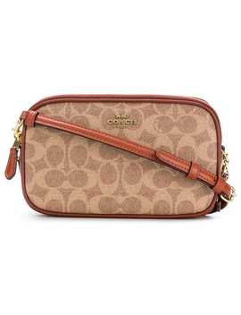 Signature Coated Cross Body Bag by Coach